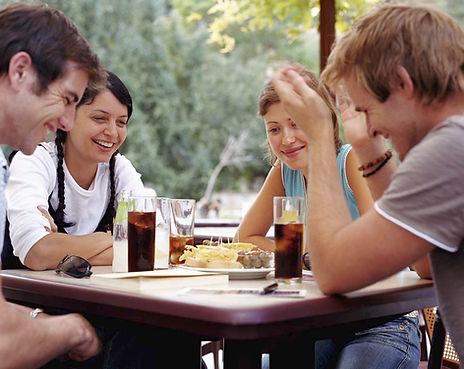 Manger à l'extérieur