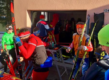 Trainingslager der Langläufer aus dem Nordschwarzwald in Davos