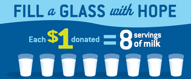 Fill a glass with hope- $1=