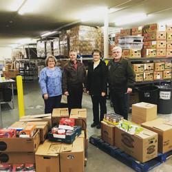 mistretta-davis food drive november 2017