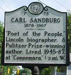 carl sandburg home national historic site flat rock nc