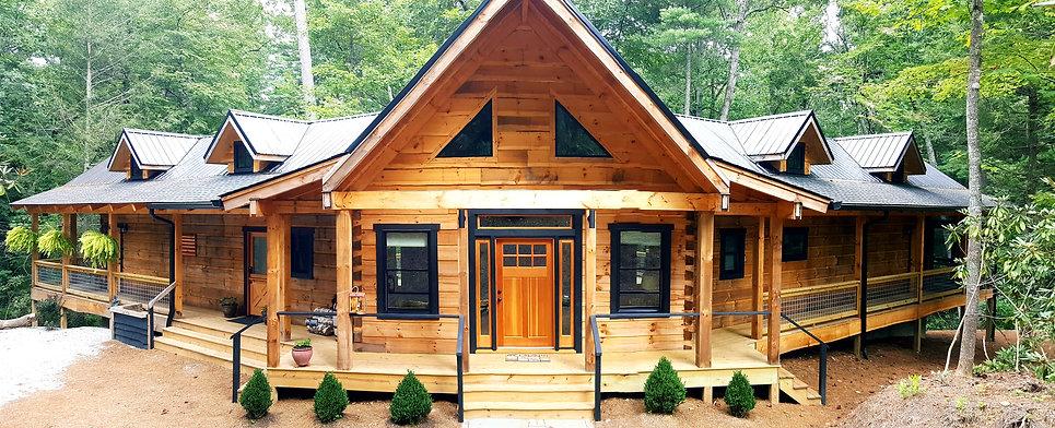 log cabin vacation rental