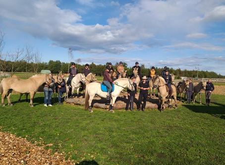 På tur til Djurs Horse Park