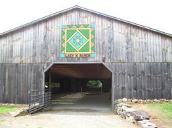 Indoor arena entrance