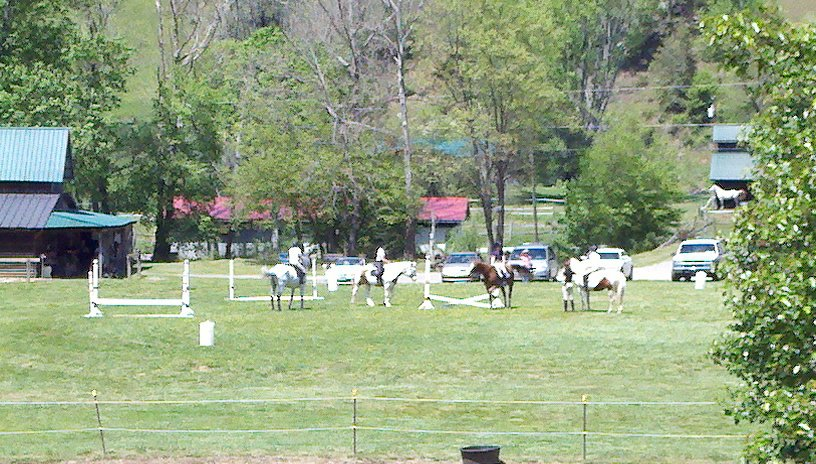 Event in the outdoor arena