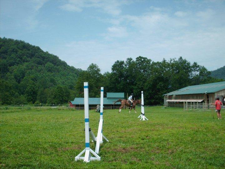 Jump & lower barn