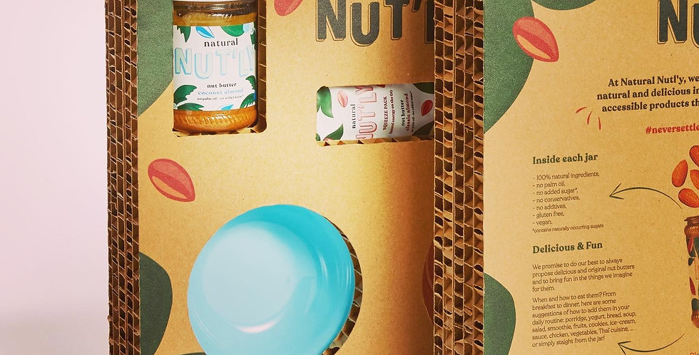 box NATURAL NUT'LY * HAY