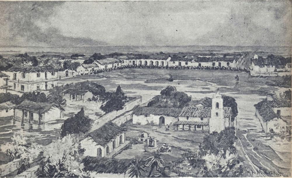 Plaza Mayor en 1650