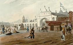 el mercado de la plaza