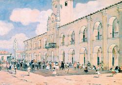 venta de esclavos en la plaza