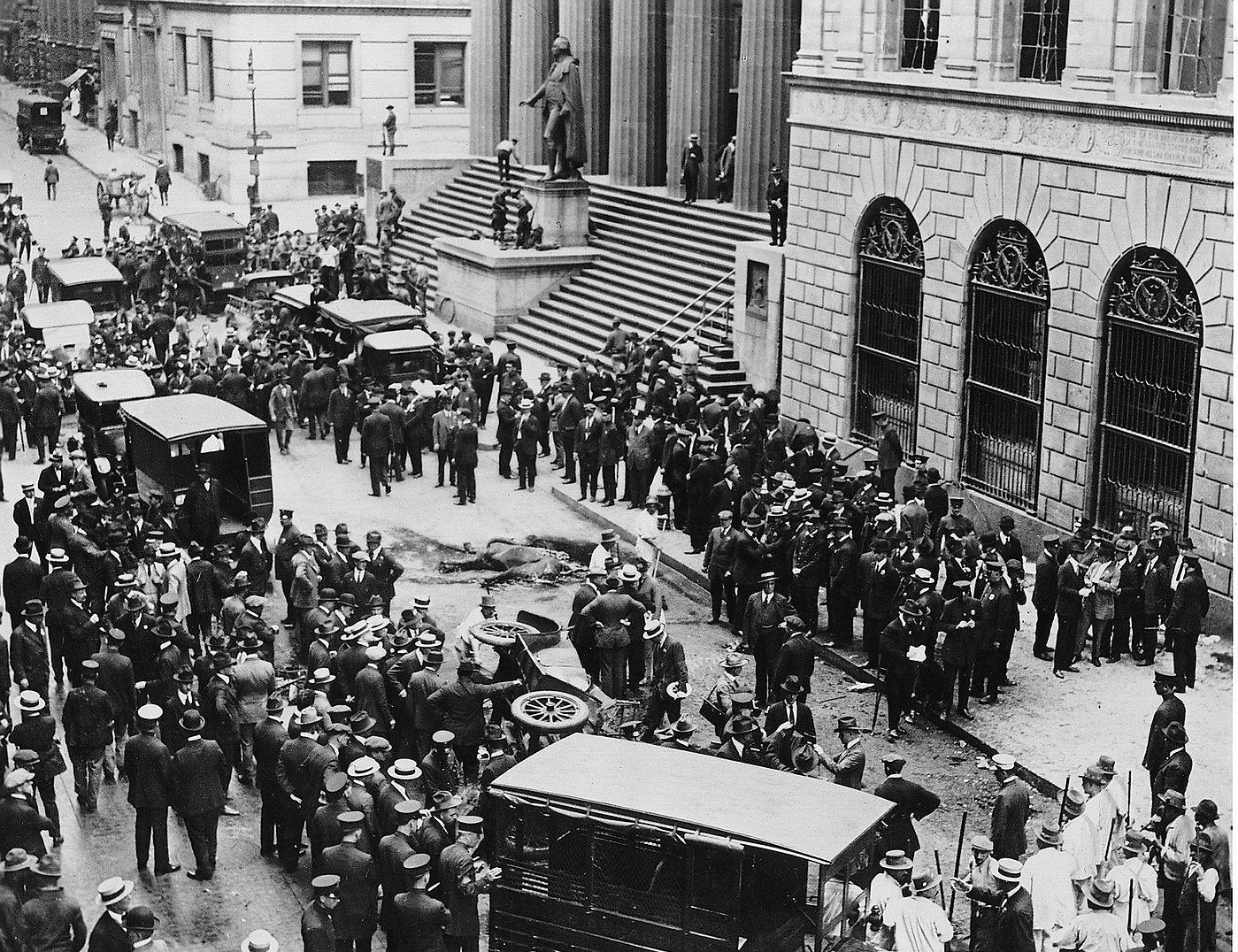 Aftermath-bombing-people-Wall-Street-Bro