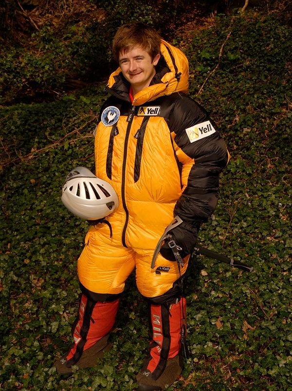 Matthew Dieumegard-Thornton in climbing