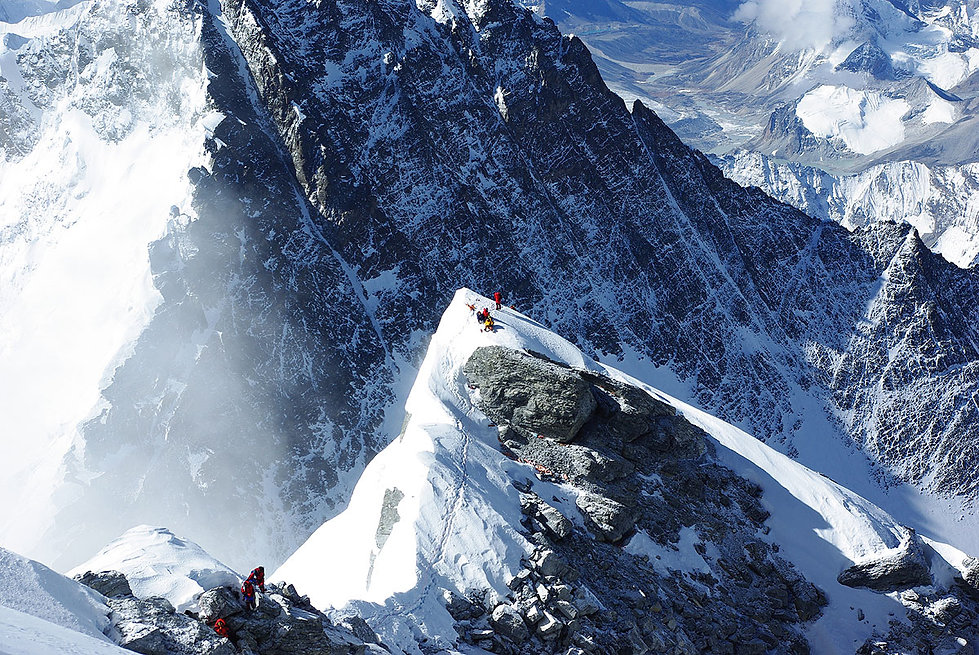 Mt.+Everest+South+Summit++Photo+by+Creat