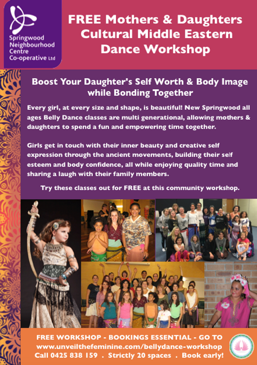 NO DATE FREE Bellydance Mothers & Daught