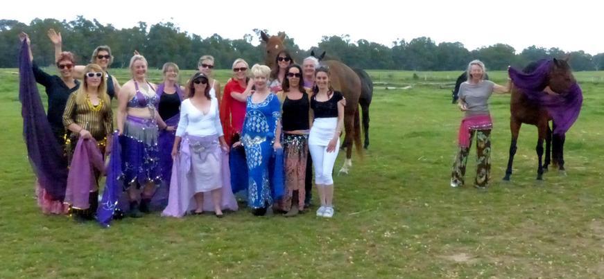 Group Photo Return to the Feminine Retre
