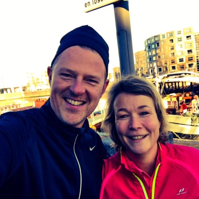 Met Anne Marie van de Wiel