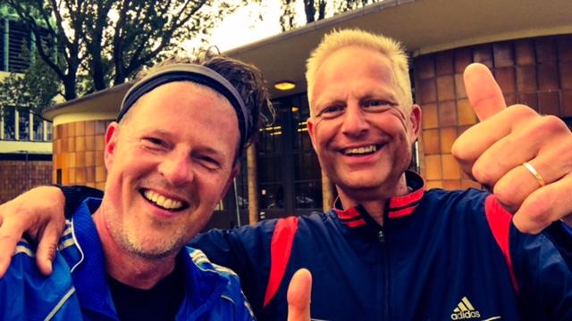 Met Sander van Beurden