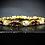 Thumbnail: Garnet & White Opal 14KT Gold Plated Sterling Silver Bracelet