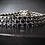 Thumbnail: Three Strand Sapphire Sterling Silver Bracelet