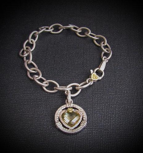 """Judith Ripka """"Athena"""" Sterling Silver Bracelet"""
