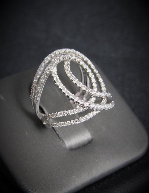 14KT White Gold Dimond Ring