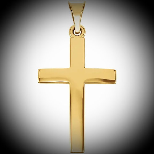 14KT Yellow Gold Cross Pendant