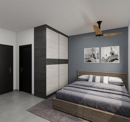 Master bedroom renovation bundle 4 room HDB