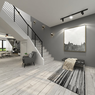 ecelectic theme executive apartment
