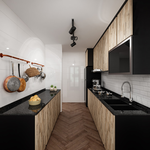 modern contemporary themed kitchen resale