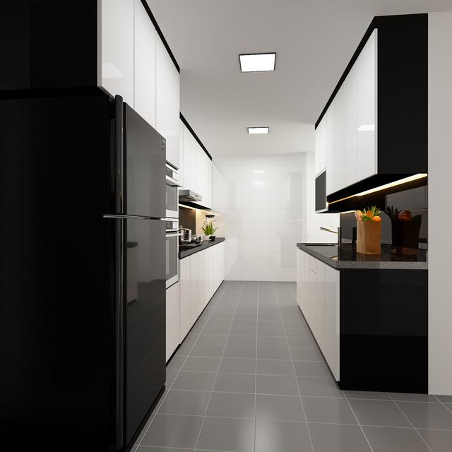 modern themed resale kitchen