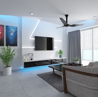 Eclectic theme executive apartment
