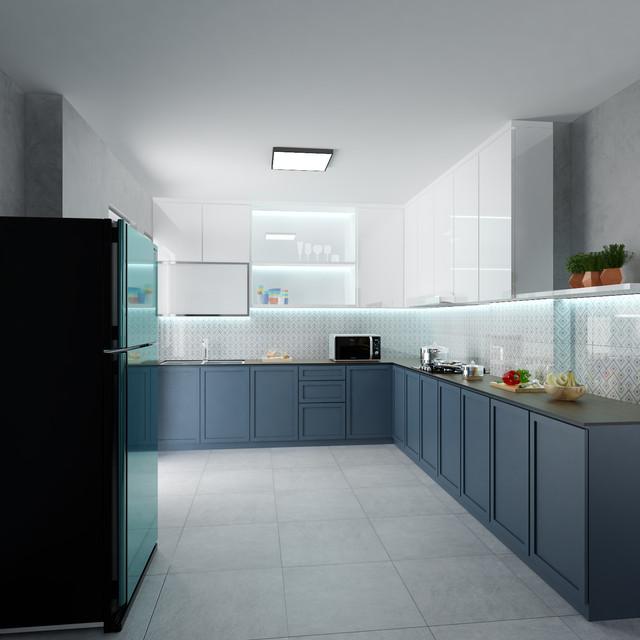 eceletic theme kitchen