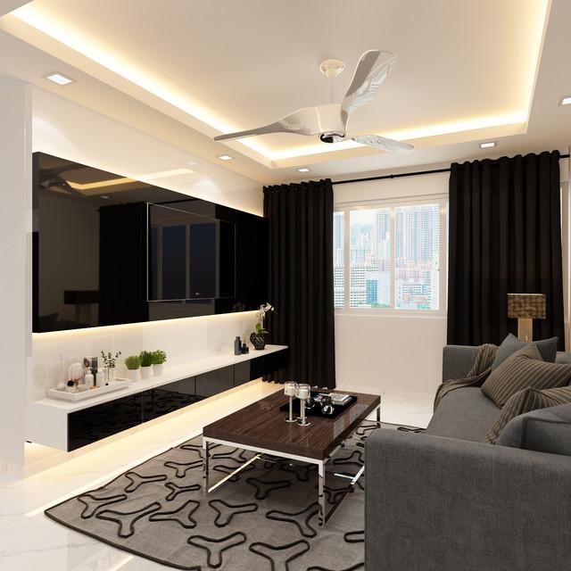 modern themed 5 room @ Bukit Merah