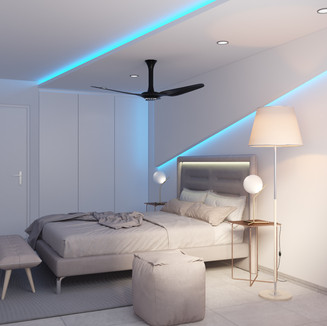 eclectic theme bedroom