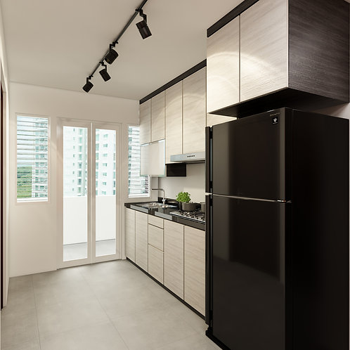 BTO Kitchen 3 Room Package