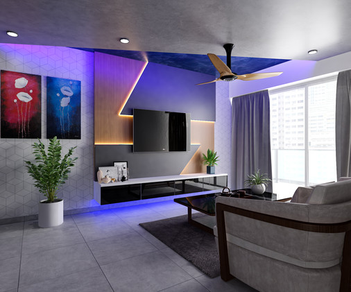futuristic home renovation resale promotion