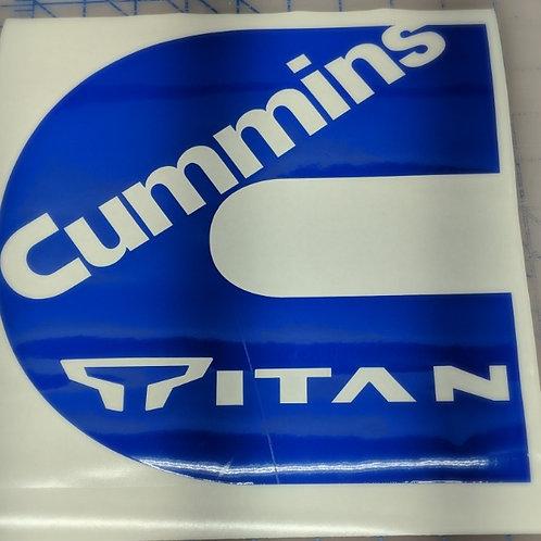 Cummins Logo w/Titan Inside