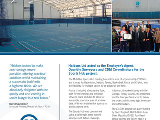 Paignton Community Sports Academy Phase 1