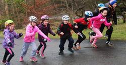 Kids at Run Forest Run