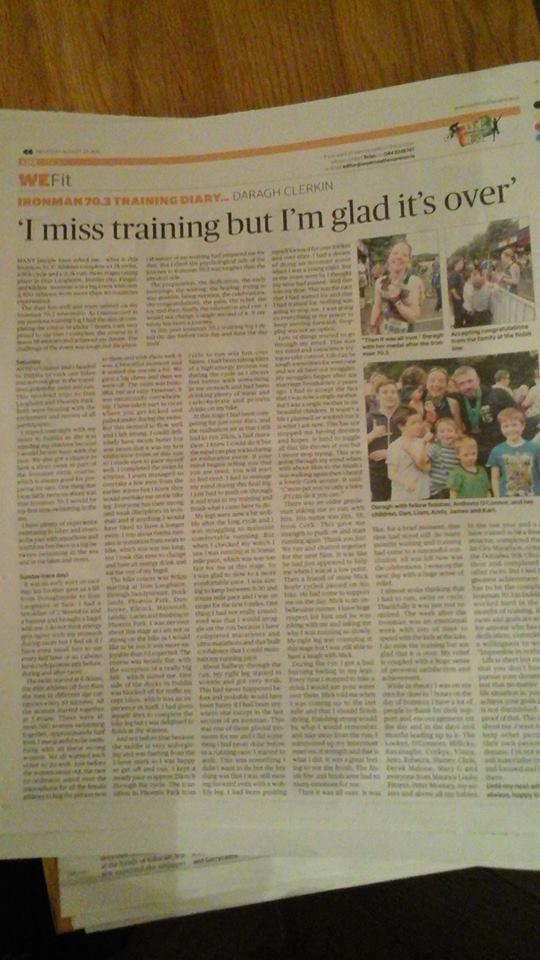 I miss training but I'm glad it's over   midland-tri