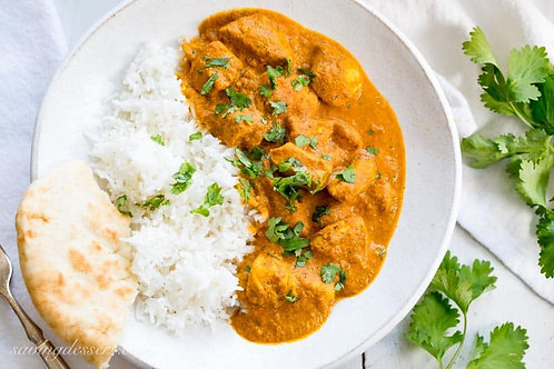 Indian Butter Chicken - Monday, February 22nd