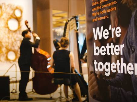 """""""We're better together"""" Wood & Grieve / Stantec 2019 Client Party."""