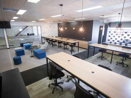 UBER - BEFORE & AFTER - Greenlight Hub Commercial Fitout