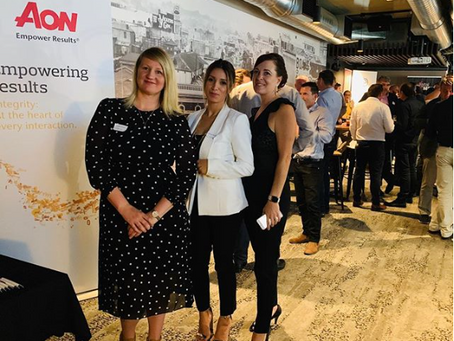 Zinfinity Projects joining the committee team for the Construction Industry Drinks & Networking.
