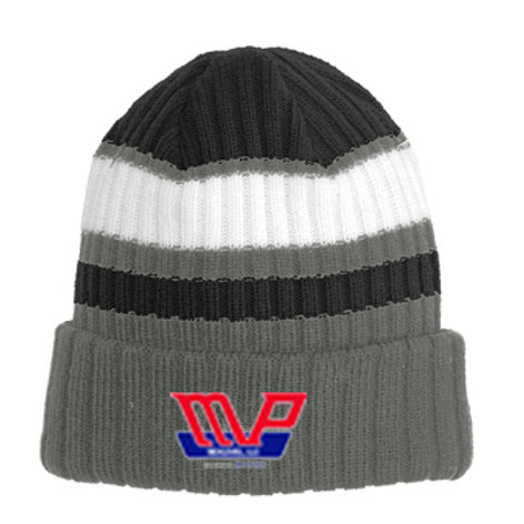 MPN Striped Beanie