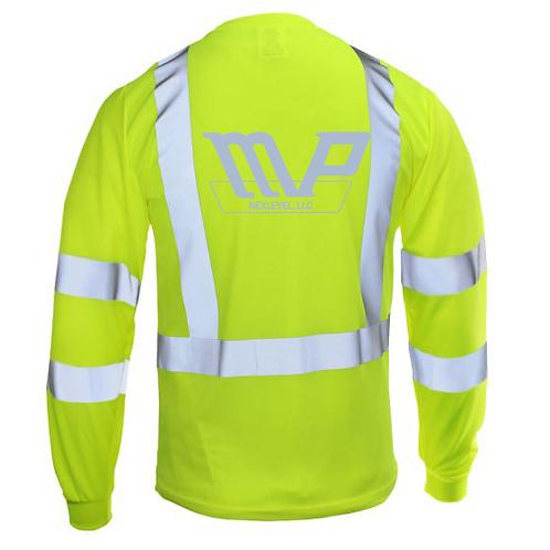 MPN HiVis Pocket LS Tshirt