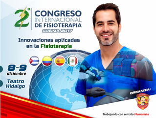 Colima será sede del Segundo Congreso Internacional de Fisioterapia