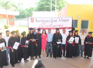 Graduación de la Preparatoria del CAMPUS IXTLAHUACÁN del Instituto José Martí