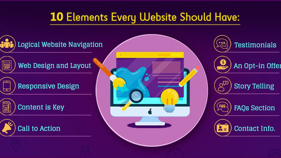 The Elements You Need for Your Website