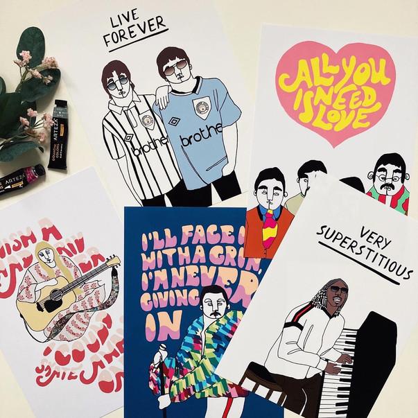 Shop Music Prints